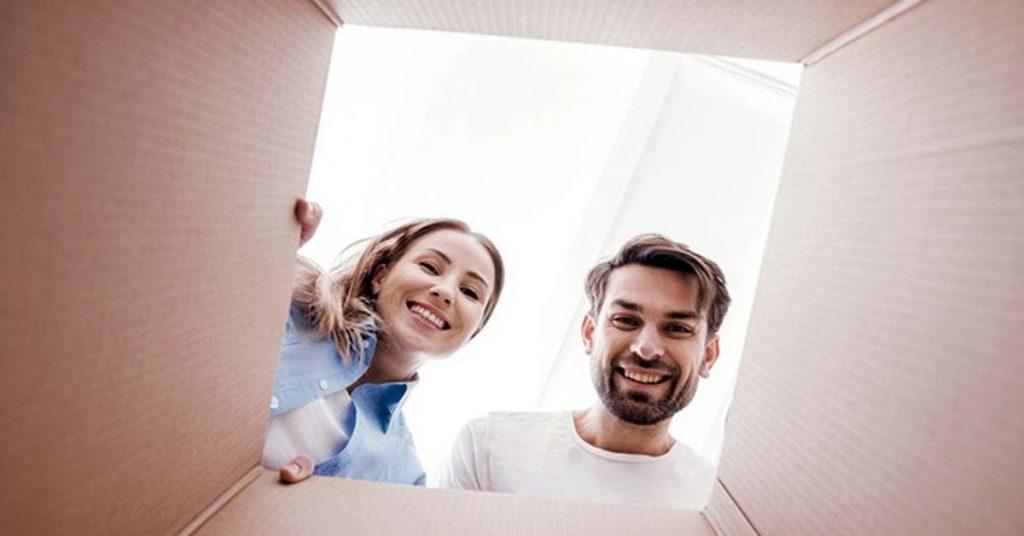 ¿Hay riesgos en la recogida de paquetes en casa?