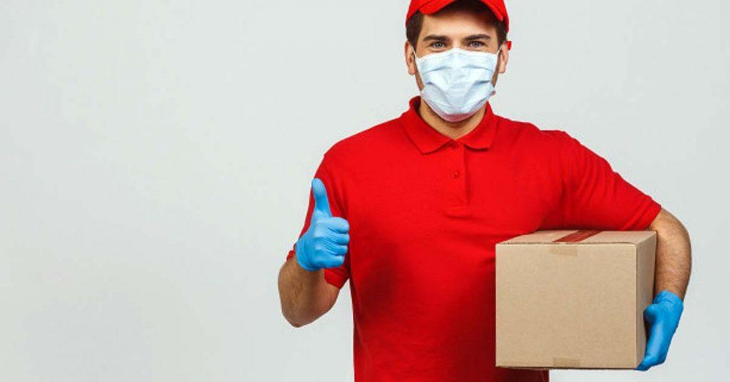 Recoger paquete con seguridad