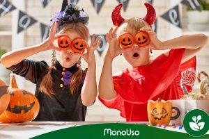 Halloweenowe naczynia dla dzieci – Monouso